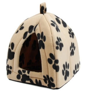 Open image in slideshow, New Arrive Pet Kennel Super Soft FabricDog Bed Princess House  Specify for Puppy Dog Cat with Paw Cama Para Cachorro Hot!!!