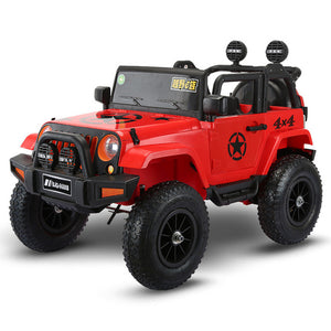 Open image in slideshow, 2021 Four-wheel drive kids electric cars children electric car ride on 1-5 years riding toy off-road vehicle with Pneumatic wheel