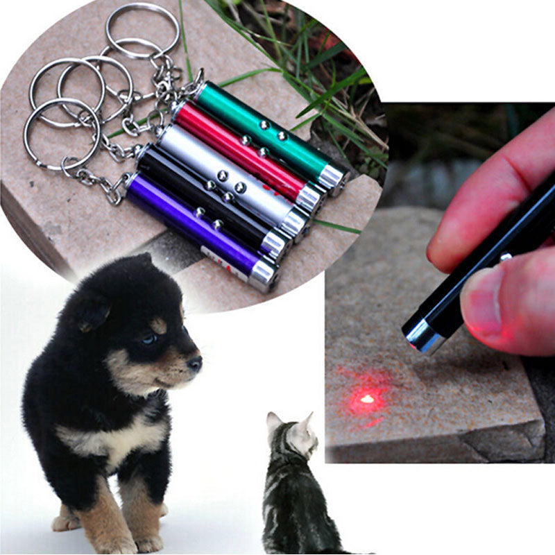 2021 LED Light Laser Toys Red Laser Pen Tease Cats Rods Visible light Laserpointer Funny Interactive Goods For Pets 5 Colors