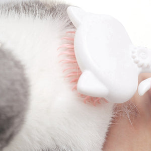 Cat Comb Hair Cat Brush Removal Device Efficient Self-cleaning Pet Pet Cat Grooming Brush Cat Comfortable And Safe Pet Non-slip