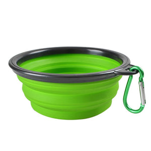 Open image in slideshow, Collapsible Dog Bowl Portable Folding 10 Colors for Pet Feeding Dog Cat Food Drinker Bowl Foldable Travel Bowl for Dogs FD0059