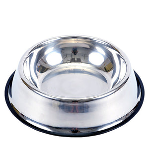 Open image in slideshow, Pet Dog Bowl Stainless Steel Feeder Drinking Water Bowl Puppy Cat Food Drink Water Feeder Cartoon Pattern Anti Skid Pet Supplies