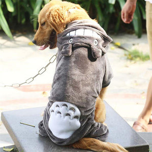 Open image in slideshow, Dog Clothes Cosplay Clothing For Dog Costume Warm Winter Coat For Pet Clothes Totoro Big Large Dogs Hoodies 3XL-9XL