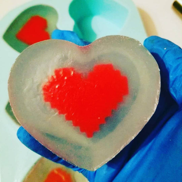Heart Container Soap