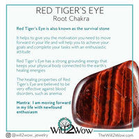 Red Tiger's Eye Soap