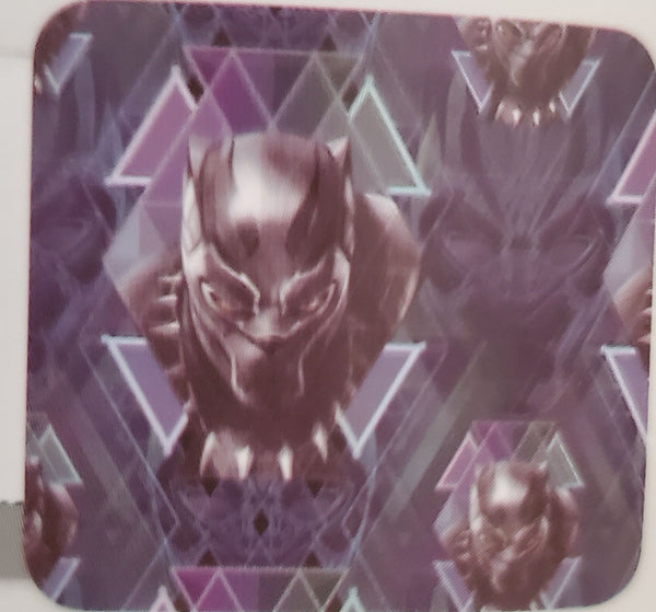 BLACK PANTHER IN COSTUME FACE MASK