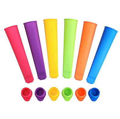 DIY Ice Pop Moulds (Set of 6)