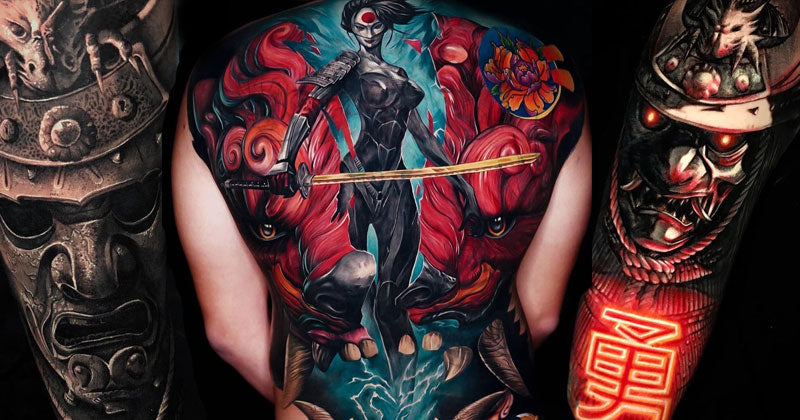 12 Incredible Tattoos of Samurai