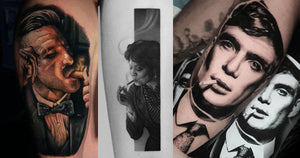 18 Eye-Catching Peaky Blinders Tattoos