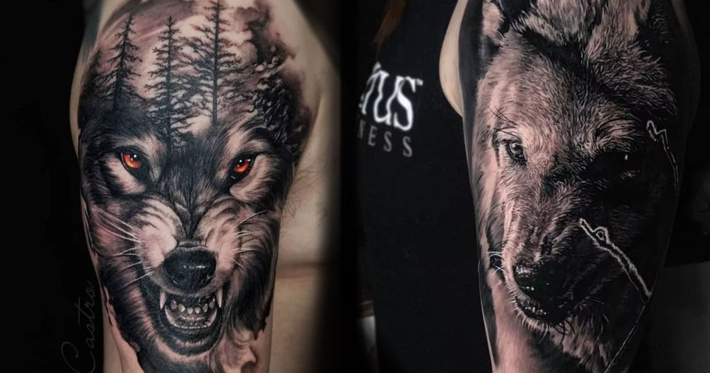 15 Spectacular Wolf Tattoos