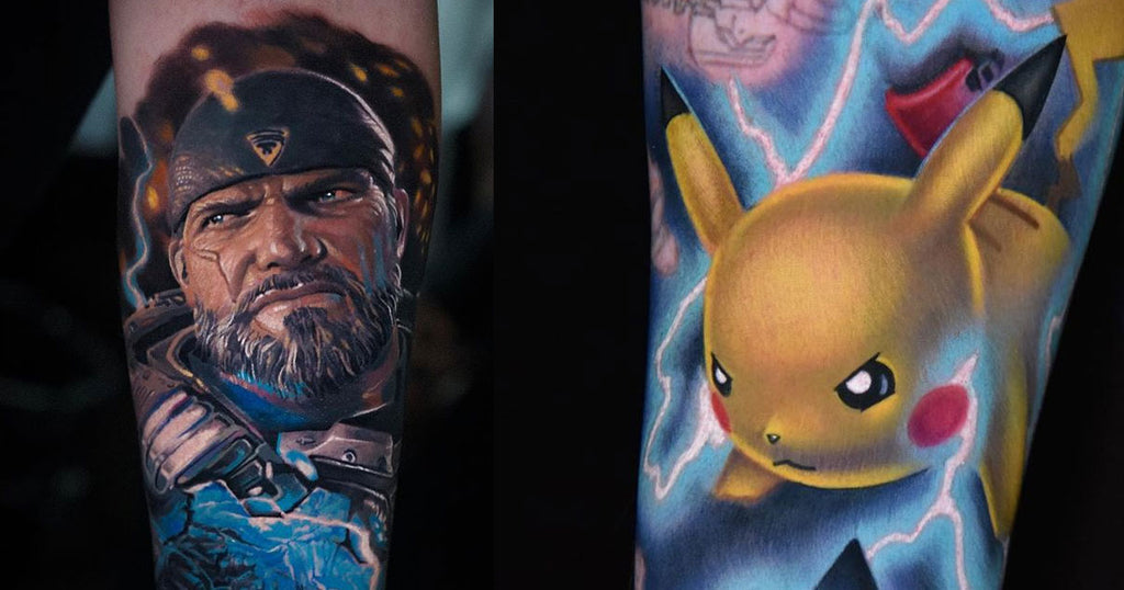 16 Jaw-Dropping Video Game-Inspired Tattoos
