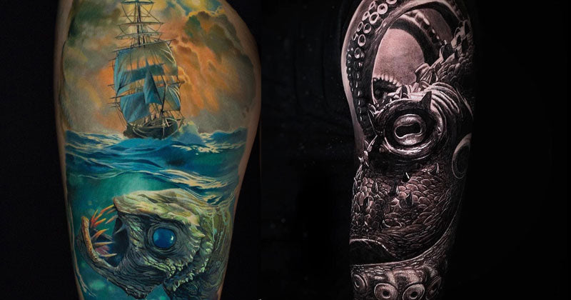 21 Nautical Tattoos Inspired By The Sea