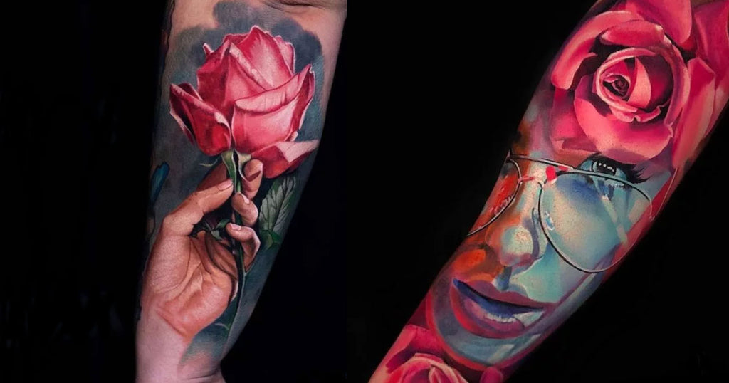 23 Cool Rose Tattoos