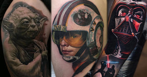 May the 4th Be With You! - 70+ Amazing Star Wars Tattoos In The Galaxy