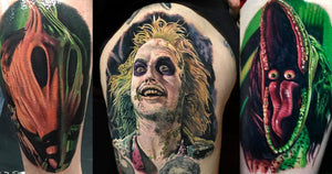 35 Beetlejuice Tattoos for the land of the living!