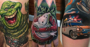 Over 55 Spookily Good Ghostbusters Tattoos