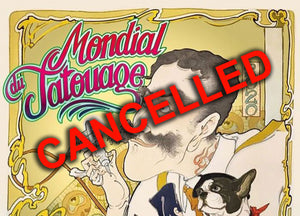 Mondial du Tatouage Cancelled!