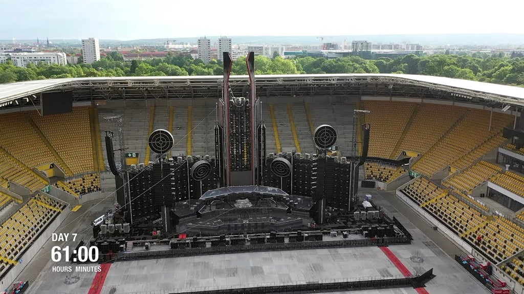 Rammstein Show The Intense Setup For Their Stadium Tour