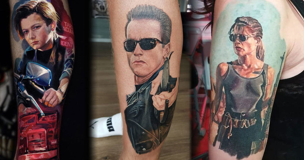 Over 40 Action-Packed Terminator Tattoos