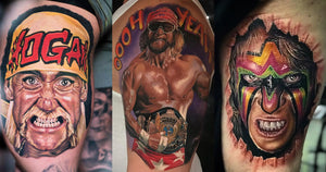 Amazing Tattoos of World Wrestling Entertainment Wrestlers