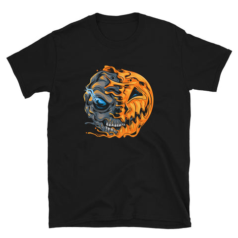 Alien Pumpkin Short-Sleeve Unisex T-Shirt
