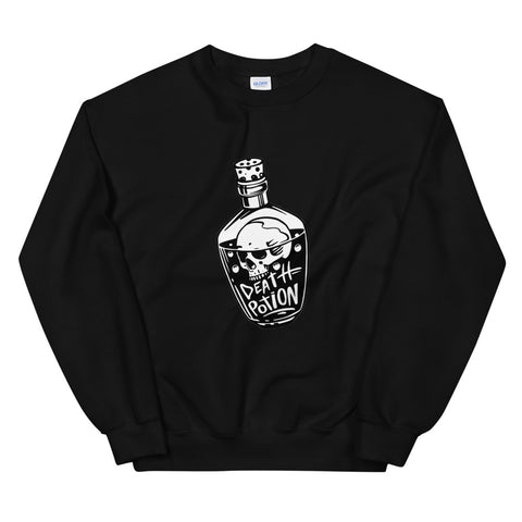 Death Poison  Black Unisex Sweatshirt