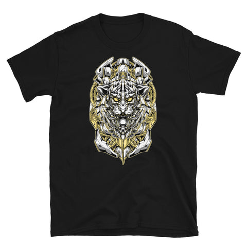 Robotiger - Black Short-Sleeve Unisex T-Shirt