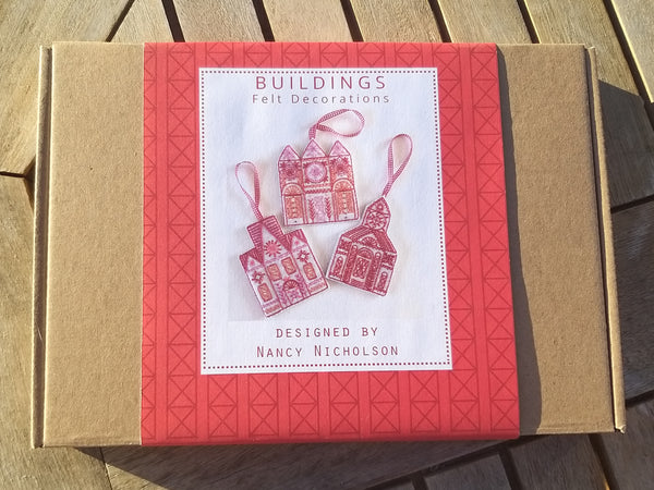 Buildings Felt Decorations Kit