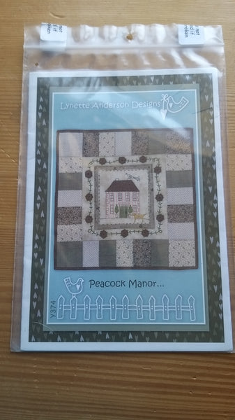 Peacock Manor Pattern