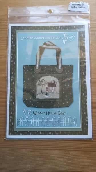 Winter House Bag Pattern