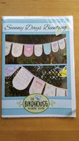 Sunny Days Bunting Pattern