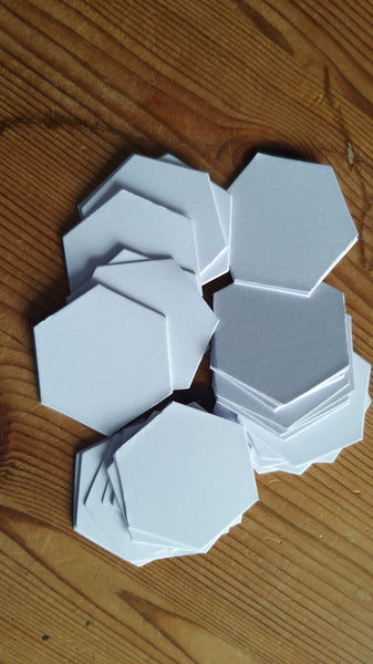 "1 1/4"" hexagons"