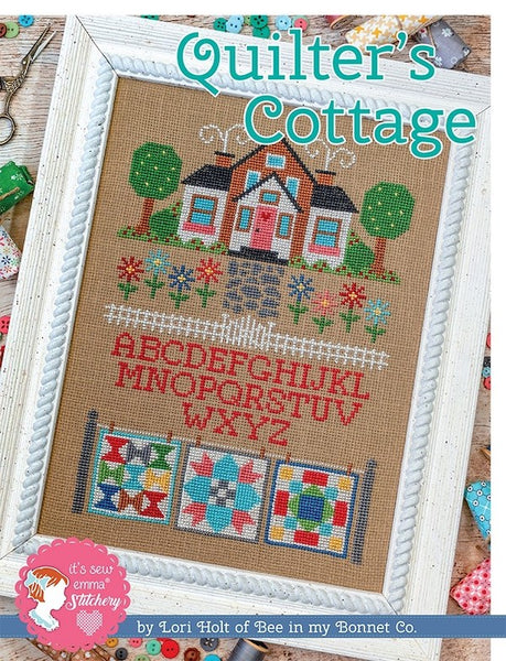 Quilter's Cottage Cross Stitch Chart