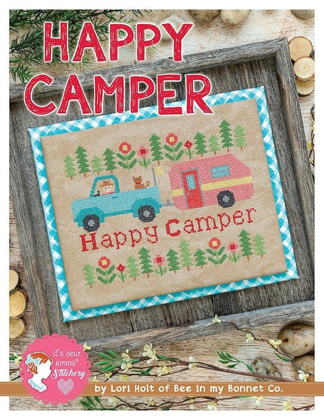 Happy Camper Cross Stitch Chart