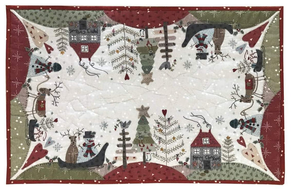 Festive Forest Table TopperPattern