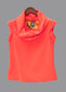 Tangerine Cowl Neck Top