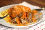 Gibsons Grassfed Meatballs and Pasta