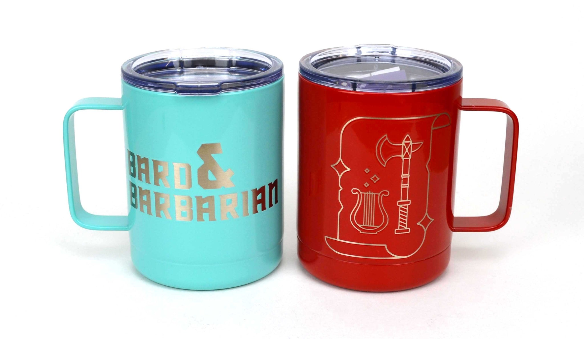Red Travel Tumbler