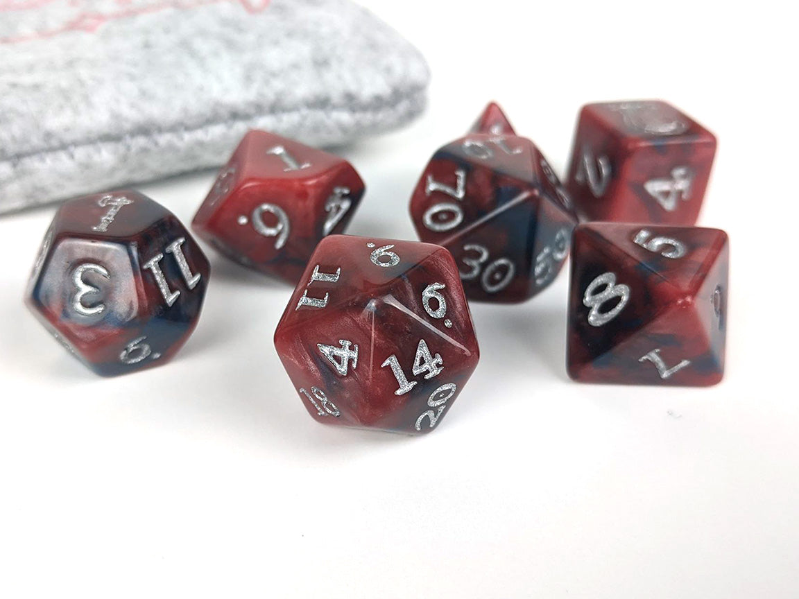 Reckless Inspiration Acrylic Dice set