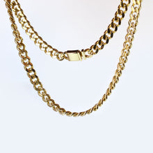 Load image into Gallery viewer, stainless steel cuban link chain