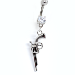 gun belly ring