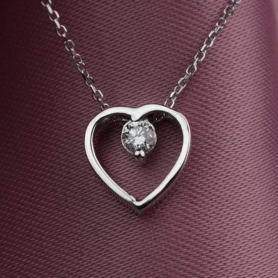 cvd heart necklace