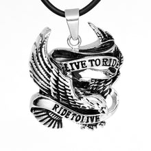 Load image into Gallery viewer, biker pendant