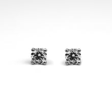 Load image into Gallery viewer, cvd diamond earrings