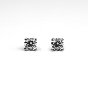 cvd diamond earrings