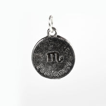 Load image into Gallery viewer, scorpio charm necklace