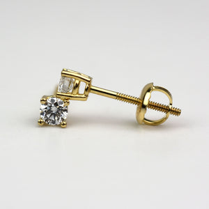 cvd screwback earrings