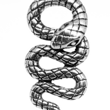 Load image into Gallery viewer, stainless steel snake pendant