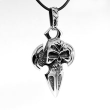 Load image into Gallery viewer, stainless steel skull