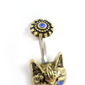 Cat Belly Ring